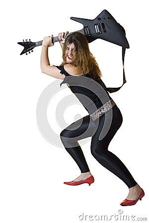 80 s Rocker Chick