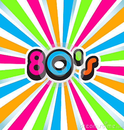 Free 80s Pop Art Background Royalty Free Stock Photos - 33684158