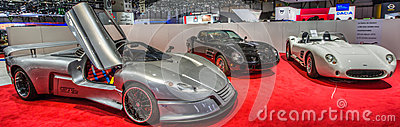 83rd Geneva Motorshow 2013. Editorial Photo
