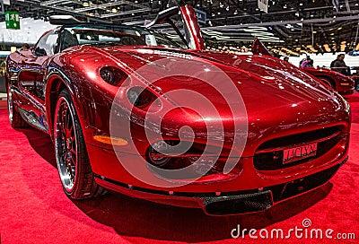 83rd Geneva Motorshow 2013 - Sbarro Jaclyn Editorial Photography