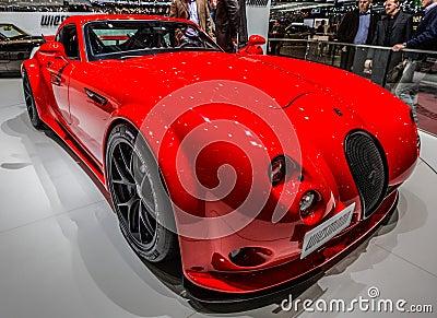 83rd Geneva Motorshow 2013 - Wiesmann GT MF4 Clubsport Editorial Image
