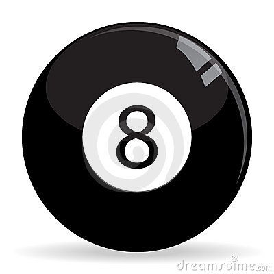 8Ball Billiards / Pool ball