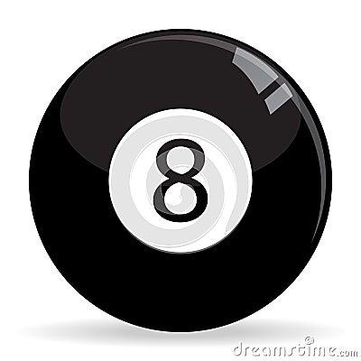 8Ball Billiards / Pool ball