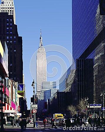 8th Avenue New York City USA Editorial Stock Image