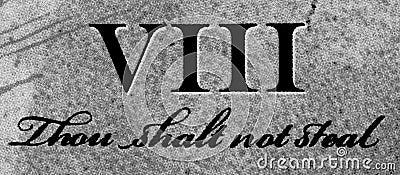 8th Commandment