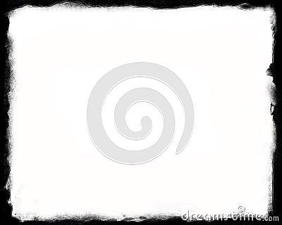 8x10 Unique Black and White border