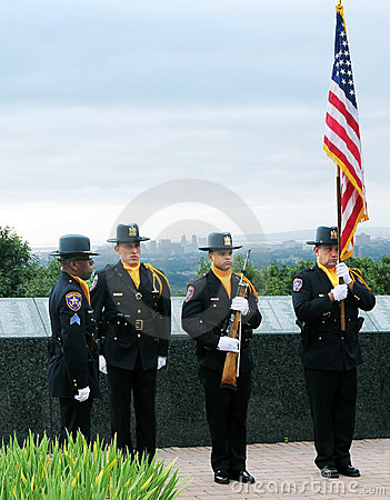 9/11 Ceremony of Remembrance Editorial Photography