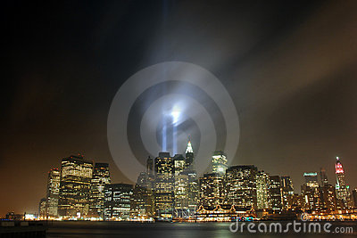 9/11 Manhattan, 2007 Editorial Stock Image