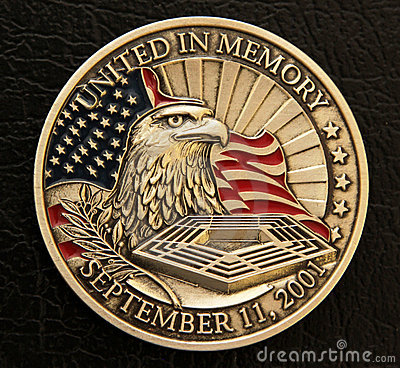 Free 9/11 Memorial Coin Royalty Free Stock Image - 20107076