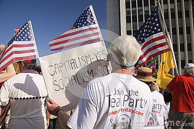 9-12 Rally and Tea Party, Editorial Photo