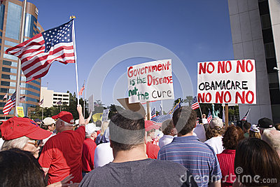 9-12 Rally and Tea Party, Editorial Stock Photo