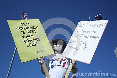 9-12 Rally and Tea Party Editorial Photography