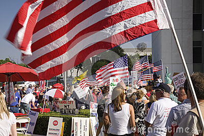 9-12 Rally and Tea Party Editorial Image