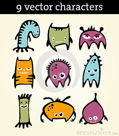 9  characters