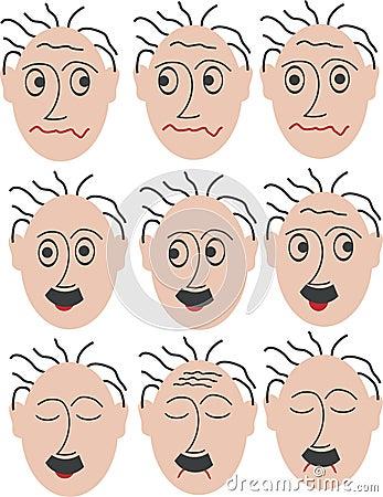 9 different mimics