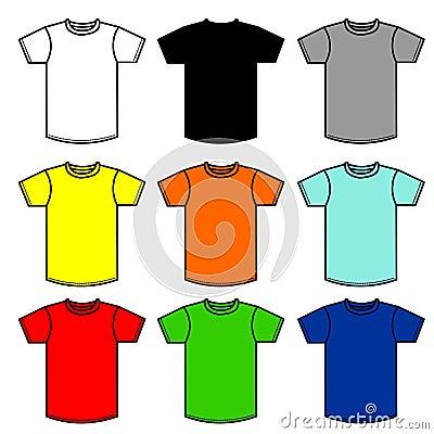 Free 90 Shirts Royalty Free Stock Image - 467696