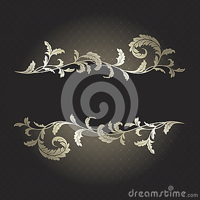 91 Black and silver background