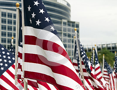 911 Day United States Patriotic Memorial Flags