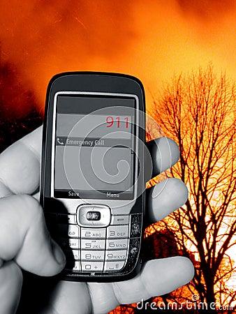 Free 911 Emergency Telephone Call Royalty Free Stock Image - 12311036