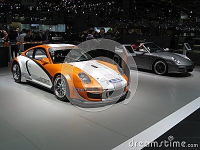 Porsche 911 GT3R Hybrid Editorial Image