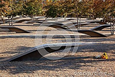 911 Memorial Victims Pentagon Attack Virginia Washington Editorial Photography