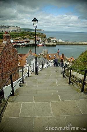 Free 99 Steps At Whitby Stock Photos - 2535463