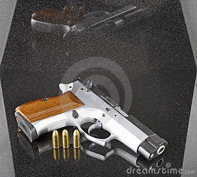 9mm automatic pistol