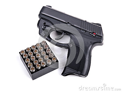 9mm Handgun & Ammo
