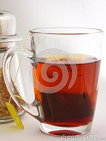 Açúcar e chá