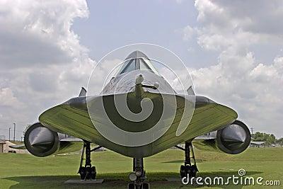 Aéronefs d espion du merle SR-71