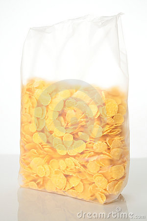Free A Bag Of Cornflakes Royalty Free Stock Photos - 8104078