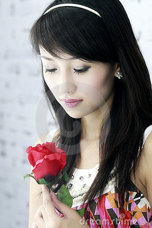 Free A Beautiful Asian Girl. Stock Photography - 6017872