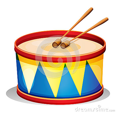 Free A Big Toy Drum Royalty Free Stock Photos - 31479478