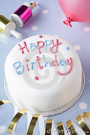 Free A Birthday Cake Royalty Free Stock Image - 17450136