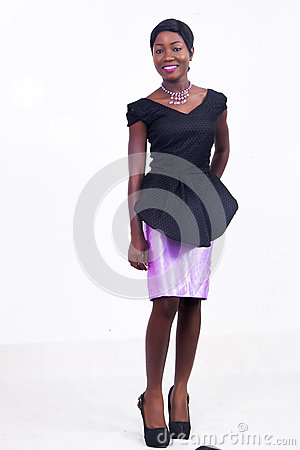 Free A Black African American Lady Royalty Free Stock Image - 92669446