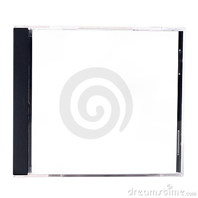 Free A Blank CD Case On A White Background Stock Photo - 11908130