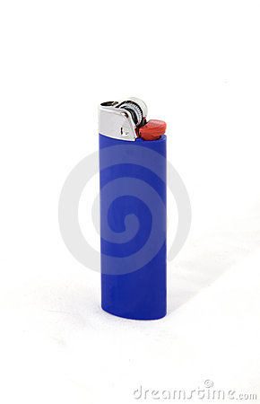 Free A Blue Lighter Stock Photo - 13997910