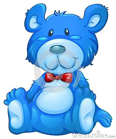 Free A Blue Teddy Bear Royalty Free Stock Image - 41674266