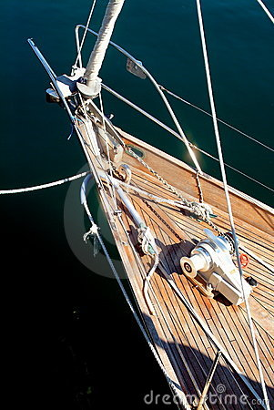 Free A Boat Bow Stock Image - 4490601
