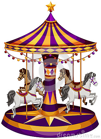 Free A Carrousel Ride Royalty Free Stock Photos - 43659758