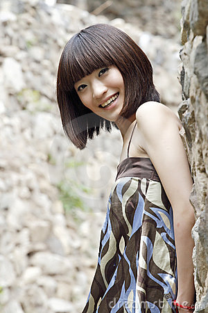 Free A Chinese Girl Stock Image - 5457801