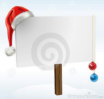 Free A Christmas Sign Stock Images - 16276794