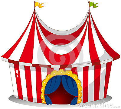 Free A Circus Tent Royalty Free Stock Photography - 31092397