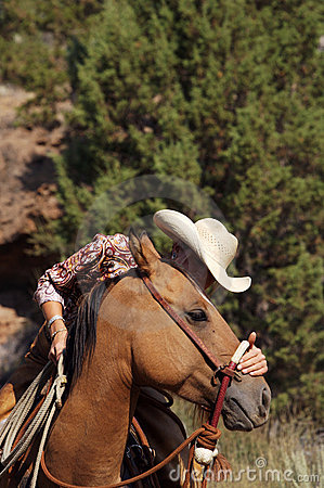 Free A Cowgirls Heart Stock Photography - 2054752