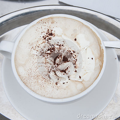 Free A Cup Of Cappucino Royalty Free Stock Image - 31113196