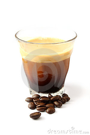 Free A Cup Of Espresso Royalty Free Stock Photos - 6423628