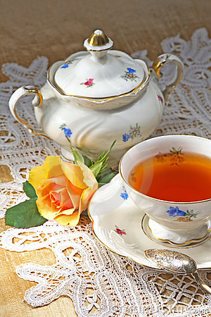 Free A Cup Of Tea Royalty Free Stock Images - 2202039