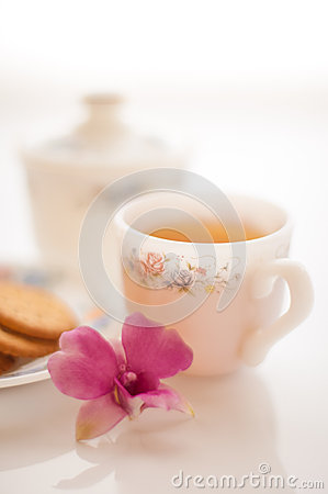 Free A Cup Of Tea Royalty Free Stock Photo - 25532795