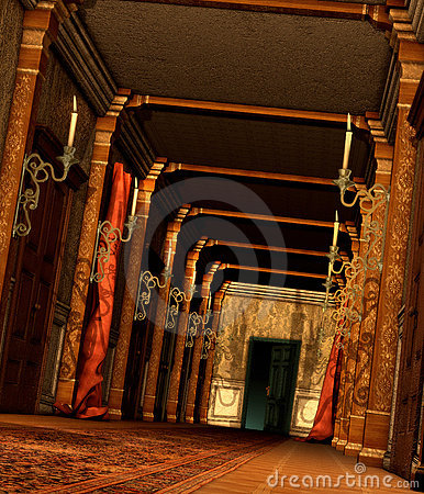Free A Curious Hallway Royalty Free Stock Photography - 20116317