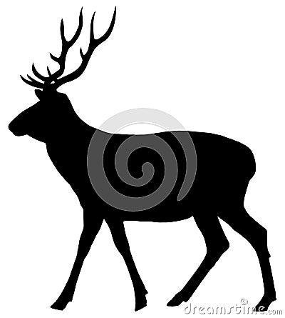 Free A Deer Walking Royalty Free Stock Photos - 35945108